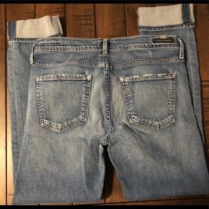 COH cropped jeans size 28